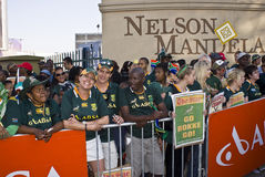 Mass farewell for Boks Stock Image