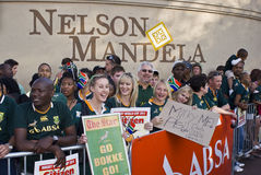Mass farewell for Boks Stock Photography