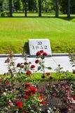 Mass grave of those killed in the siege of Leningrad. Piskaryovskoye memorial cemetery in Leningrad Stock Photo