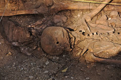 Mass grave of the Spanish Civil War (1936) Royalty Free Stock Photography