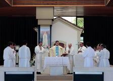 Mass i Fatima fotografering för bildbyråer