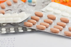 Free Mass Of Pills Stock Images - 18532984