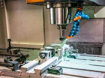 Mass production of metal parts royalty free stock photography