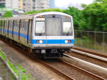 Mass rapid transit. In Taiwan Royalty Free Stock Images