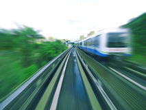 Mass rapid transit Stock Photo