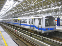 Mass rapid transit. In Taiwan Stock Images