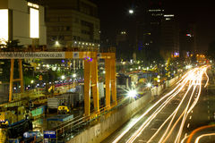 The Mass Rapid Transit (MRT) project in Jakarta Royalty Free Stock Photography