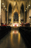 Mass at St. Patrick's Cathedral, NYC Stock Photography