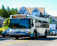 Mass Transit, Provincetown, Bus. Stock Photography