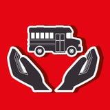 Mass transport design Royalty Free Stock Image