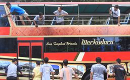 Mass transportation campaign Stock Photo