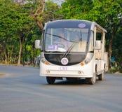 The Mass Transportation of Chiangmai university. Stock Photos