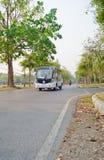 The Mass Transportation of Chiangmai university. Royalty Free Stock Photos