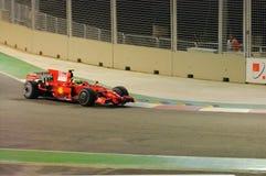 massa 2008 автомобиля f1 felipe ferrari Стоковые Изображения RF