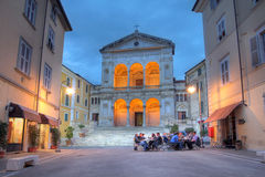Massa Cathedral, Italy stock photos