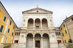 Massa Cathedral, Tuscany Stock Image