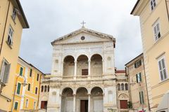 Massa Cathedral, Tuscany Royalty Free Stock Photography