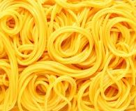 Massa Coiled do espaguete imagens de stock