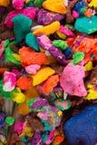 Massa colorida seca do jogo nas partes Foto de Stock