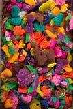 Massa colorida seca do jogo nas partes Fotos de Stock Royalty Free