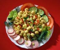 Massa com tomates? Foto de Stock Royalty Free
