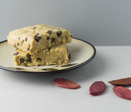 Massa cru da cookie Fotografia de Stock