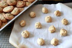 Massa da cookie Foto de Stock Royalty Free