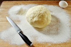 Massa de pão caseiro Foto de Stock Royalty Free