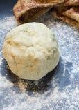Massa de pão do bolinho Fotografia de Stock