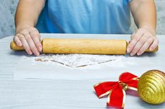 Massa de pão do pão-de-espécie do rolamento Foto de Stock Royalty Free