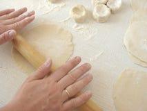 Massa de pão do rolamento Fotos de Stock