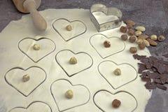 Massa de pão para biscoitos Imagem de Stock Royalty Free
