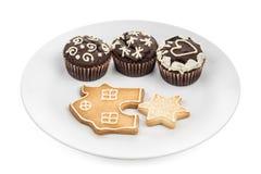 Massa de pastelaria, artigo cozido da pastelaria, fotos de stock royalty free