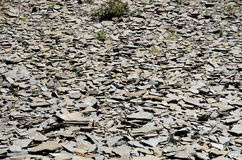 Massa di pietra piana Fotografia Stock Libera da Diritti