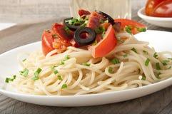 Massa do espaguete Imagens de Stock Royalty Free
