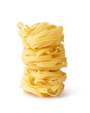 Massa do Fettuccine fotos de stock