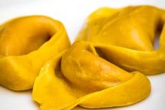 Massa do italiano do Tortellini foto de stock