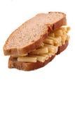 A massa do pão no fundo branco Fotografia de Stock Royalty Free