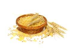 Massa do trigo imagem de stock