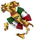 Massa feita em Italy foto de stock