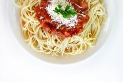 Massa italiana imagem de stock royalty free