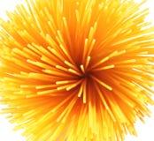 Massa italiana, espaguete, fundo Imagem de Stock