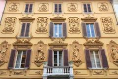 Massa, Italy. Massa - town in Tuscany, Italy. Ornate architecture royalty free stock photos