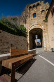 Massa Marittima, Τοσκάνη, μεσαιωνική πόλη στην Ιταλία στοκ φωτογραφίες