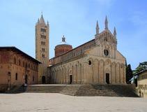 Massa Marittima cathedral Stock Photo