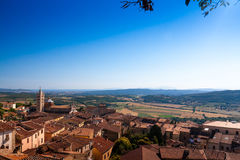 Massa Marittima is an old town in center Italy Royalty Free Stock Photo
