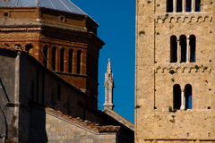 Massa Marittima is an old town in center Italy Royalty Free Stock Photography