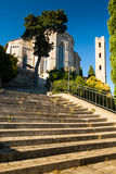 Massa Marittima is an old town in center Italy Stock Image