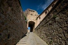 Massa Marittima, Toscane, ville médiévale en Italie photos libres de droits