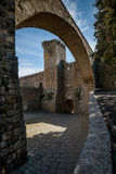 Massa Marittima, Tuscany, medieval town in Italy Royalty Free Stock Photography